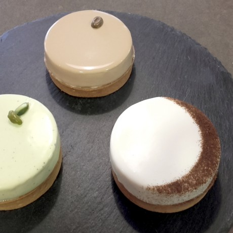 """Infiniment"" pies by Pierre Hermé"