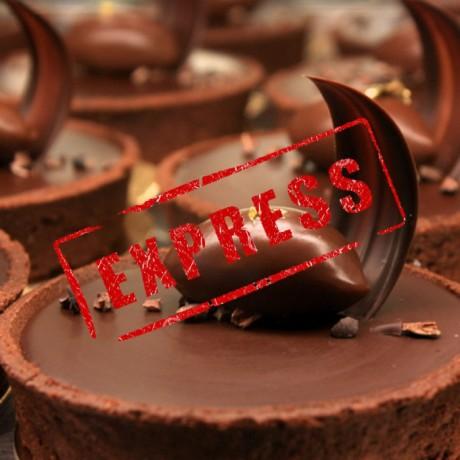 Tarte 100% chocolat (version express)