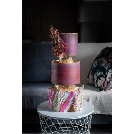 Wedding cake avec Les délices de Oumi (100€ d'acompte) 250€ PRIX TOTAL