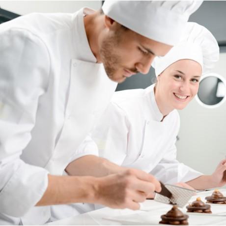 Le travail du chocolat : matière et structure