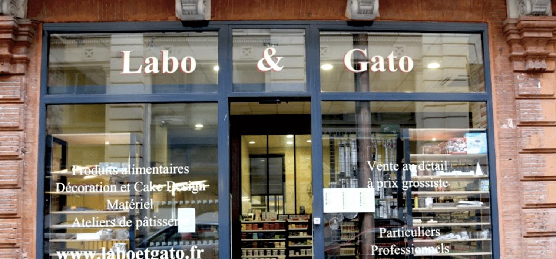 Boutique labo&gato à Toulou, professional baking supplies