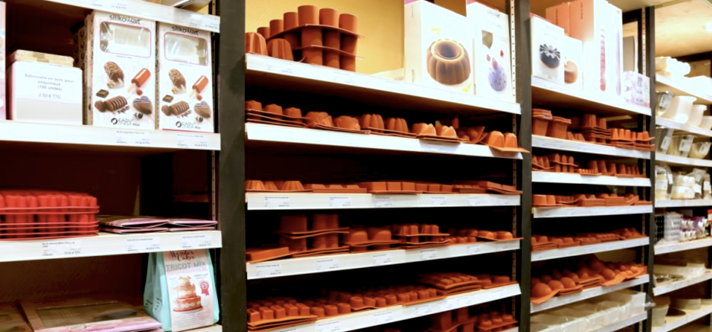 Boutique spécialisée dans le matériel pour pâtisserie,  à Toulouse, cours de cuisine